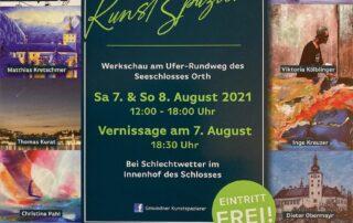 Gmundner Kunstspazierer, 07./08.08.2021